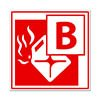 class b fire symbol